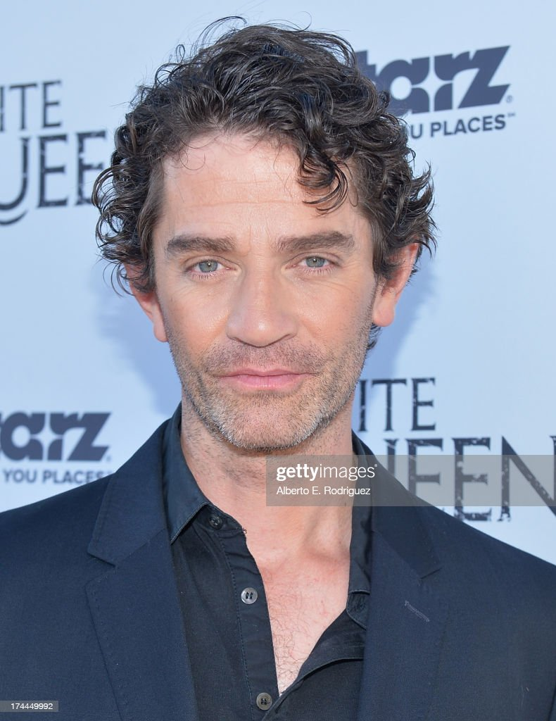 Actor <a gi-track='captionPersonalityLinkClicked' href=/galleries/search?phrase=James+Frain&family=editorial&specificpeople=2240982 ng-click='$event.stopPropagation()'>James Frain</a> attends The Brittish Consulate'a toast of the U.S. launch of the Starz original series 'The White Queen' on July 25, 2013 in Los Angeles, California.