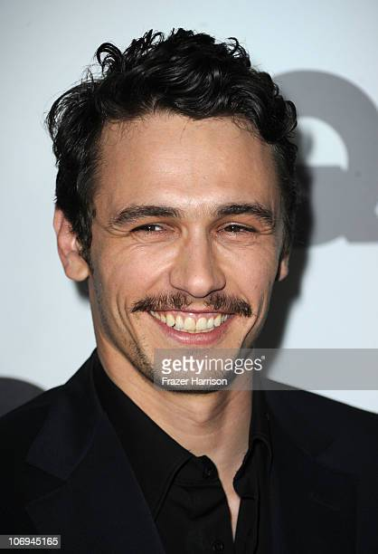 Actor James Franco arrives at the GQ 2010 'Men of the Year' held at Chateau Marmont on November 17 2010 in Los Angeles California