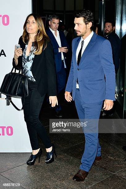 Actor James Franco arrives at Tribeca Film's 'Palo Alto' Los Angeles Premiere on May 5 2014 in Los Angeles California