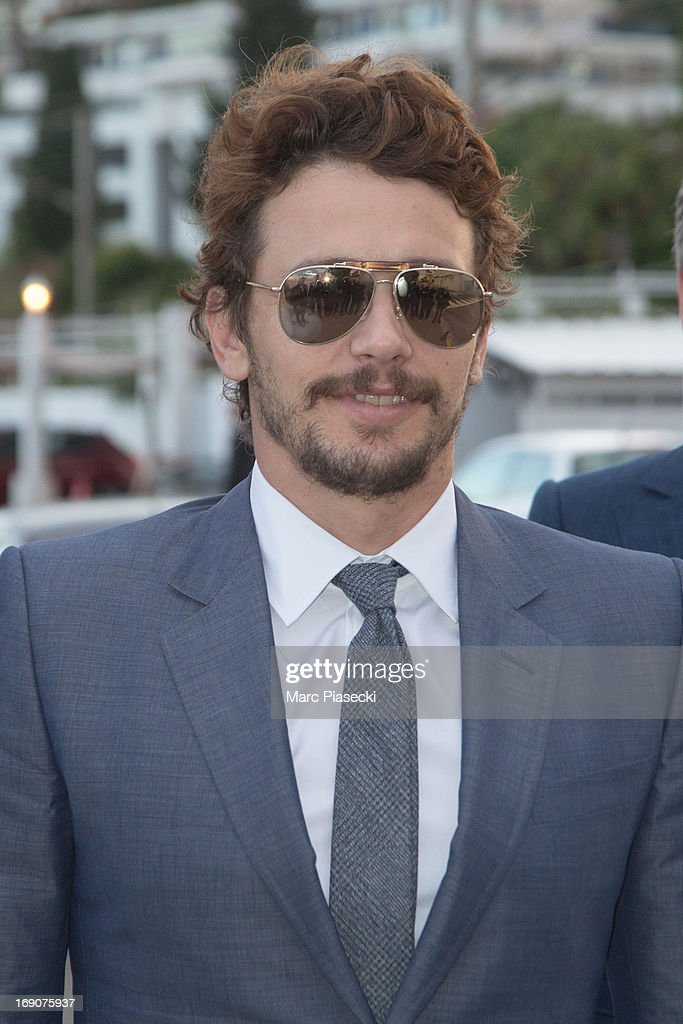 Actor <a gi-track='captionPersonalityLinkClicked' href=/galleries/search?phrase=James+Franco&family=editorial&specificpeople=577480 ng-click='$event.stopPropagation()'>James Franco</a> arrives to attend the 'Vanity Fair Chanel' dinner at 'Tetou' restaurant during the 66th Annual Cannes Film Festival on May 19, 2013 in Le Golfe Juan, France.
