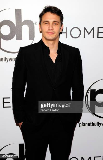 Actor James Franco arrives to the premiere of 'Homefront' at Planet Hollywood Resort Casino on November 20 2013 in Las Vegas Nevada