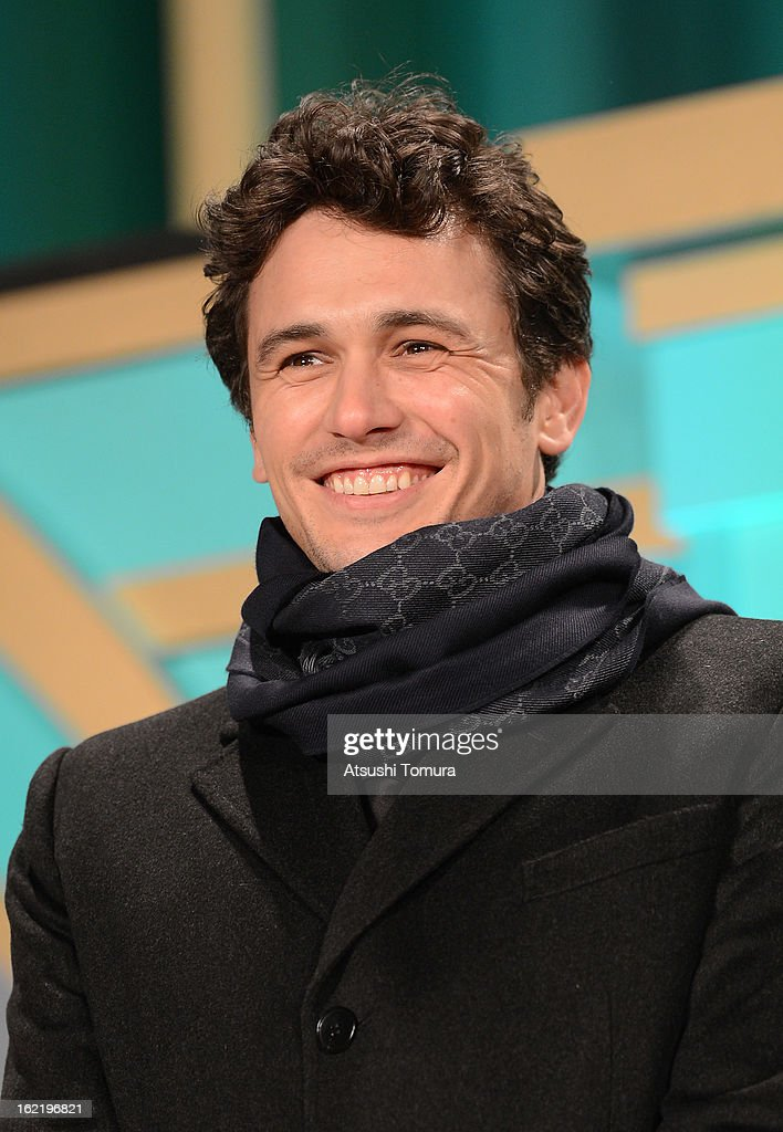 Actor <a gi-track='captionPersonalityLinkClicked' href=/galleries/search?phrase=James+Franco&family=editorial&specificpeople=577480 ng-click='$event.stopPropagation()'>James Franco</a> attend the 'Oz: the Great and Powerful' Japan Premiere at Roppongi Hills on February 20, 2013 in Tokyo, Japan. The film will open on March 8 in Japan.