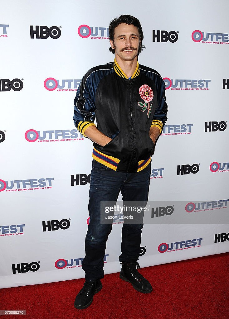 Actor James Franco attends a screening of 'King Cobra' and the presentation of the James Schamus Ally Award at the 2016 Outfest at Director's Guild...