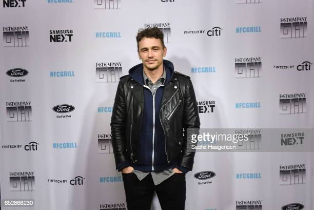 Actor James Franco attends Fast Company's prereception for a screening of 'The Disaster Artist' at the FC Grill on March 12 2017 in Austin Texas