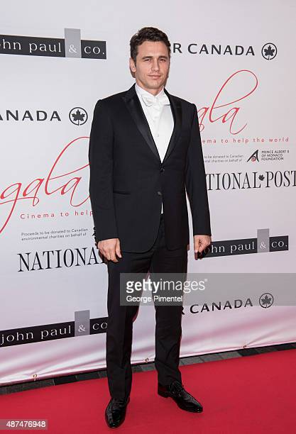Actor James Franco attends the 2015 Toronto International Film Festival 'AMBI Gala' at the Four Seasons Hotel on September 9th 2015 in Toronto Canada