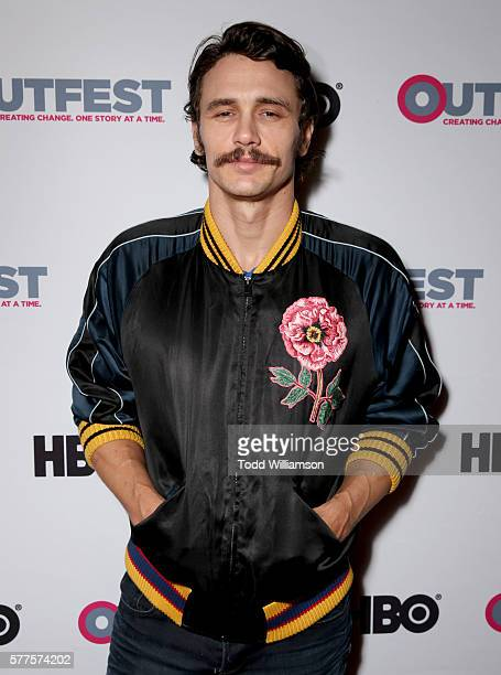 Actor James Franco attends the 2016 Outfest Los Angeles screening of 'King Cobra' and the presentation of the James Schamus Ally Award at Director's...