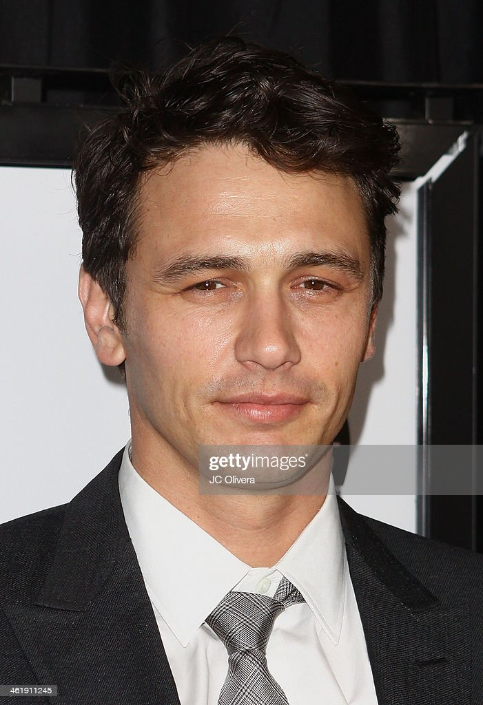 Actor James Franco attends The 39th Annual Los Angeles Film Critics Association Awards at InterContinental Hotel on January 11 2014 in Century City...