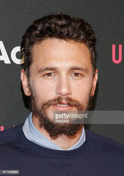 Actor James Franco attends the AOL 2015 Newfront on April 28 2015 in New York City