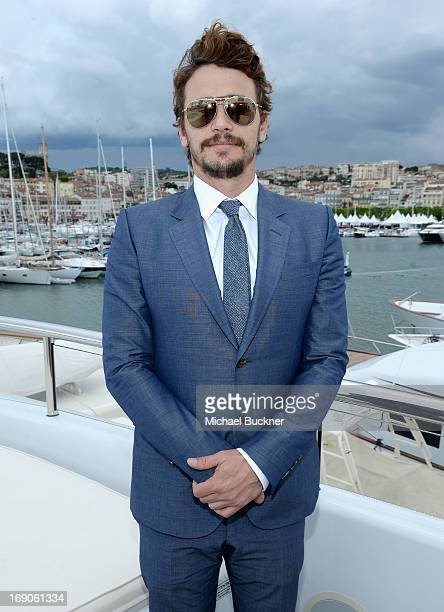 Actor James Franco attends The Art of Elysium Rabbit Bandini and Leon Max event for Ahna O'Reilly at Festival de Cannes during the 66th Annual Cannes...