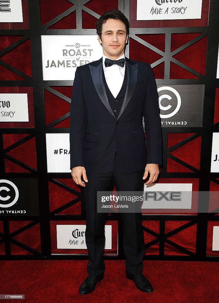 Actor <a gi-track='captionPersonalityLinkClicked' href=/galleries/search?phrase=James+Franco&family=editorial&specificpeople=577480 ng-click='$event.stopPropagation()'>James Franco</a> attends the Comedy Central Roast of <a gi-track='captionPersonalityLinkClicked' href=/galleries/search?phrase=James+Franco&family=editorial&specificpeople=577480 ng-click='$event.stopPropagation()'>James Franco</a> at Culver Studios on August 25, 2013 in Culver City, California.