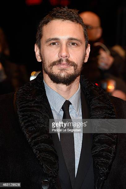 Actor James Franco attends the 'Every Thing Will Be Fine' premiere during the 65th Berlinale International Film Festival at Berlinale Palace on...
