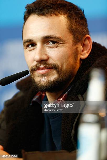 Actor James Franco attends the 'Every Thing Will Be Fine' press conference during the 65th Berlinale International Film Festival at Grand Hyatt Hotel...