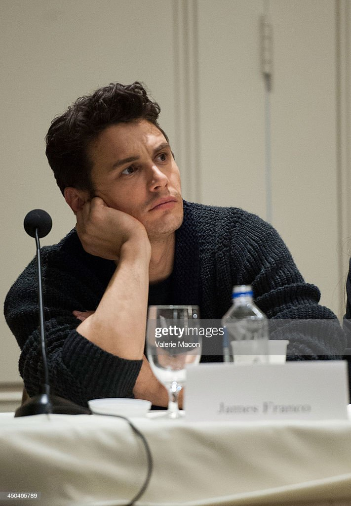 Actor <a gi-track='captionPersonalityLinkClicked' href=/galleries/search?phrase=James+Franco&family=editorial&specificpeople=577480 ng-click='$event.stopPropagation()'>James Franco</a> attends the 'Homefront' Los Angeles press conference and photo call at Four Seasons Hotel Los Angeles at Beverly Hills on November 18, 2013 in Beverly Hills, California.
