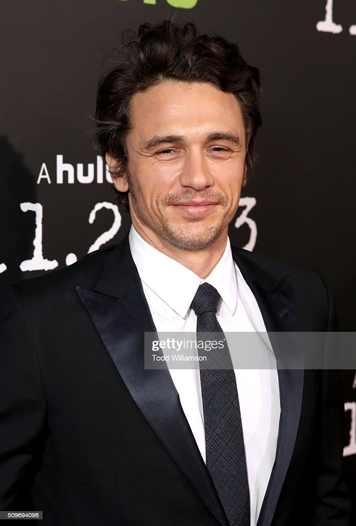 Actor <a gi-track='captionPersonalityLinkClicked' href=/galleries/search?phrase=James+Franco&family=editorial&specificpeople=577480 ng-click='$event.stopPropagation()'>James Franco</a> attends the Hulu Original '11.22.63' premiere at the Regency Bruin Theatre on February 11, 2016 in Los Angeles, California.