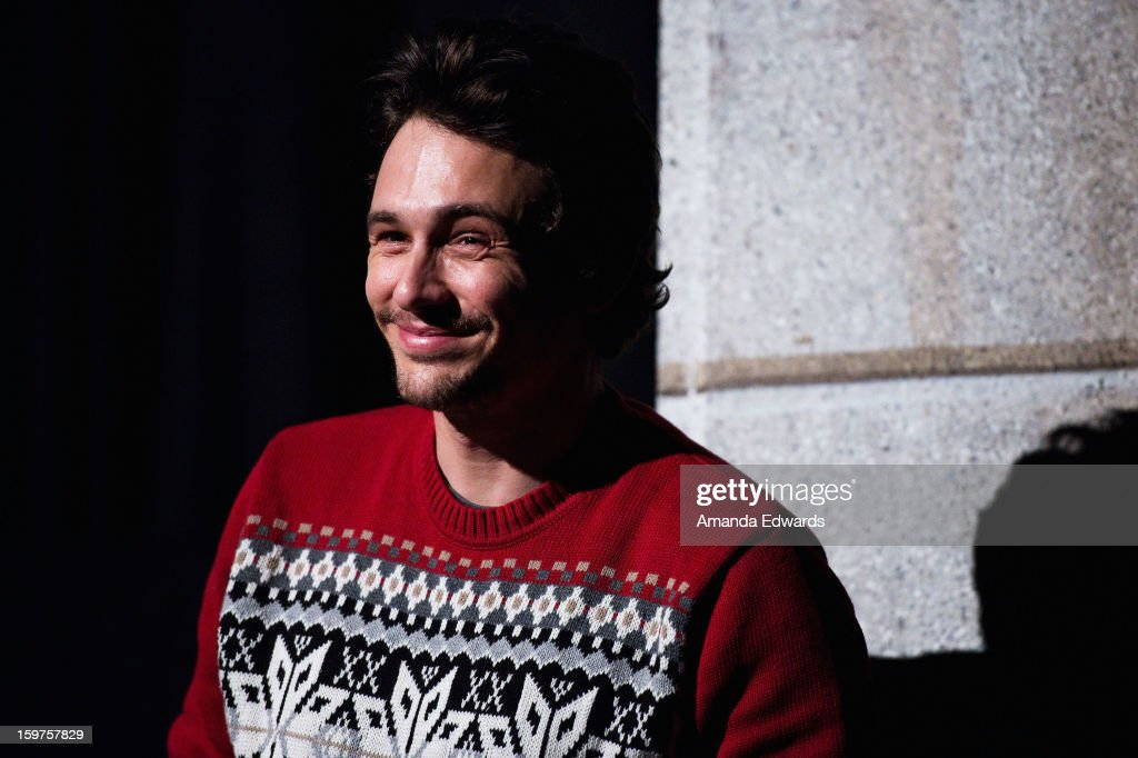 Actor James Franco attends the 'Kink' premiere at Egyptian Theatre during the 2013 Sundance Film Festival on January 19, 2013 in Park City, Utah.