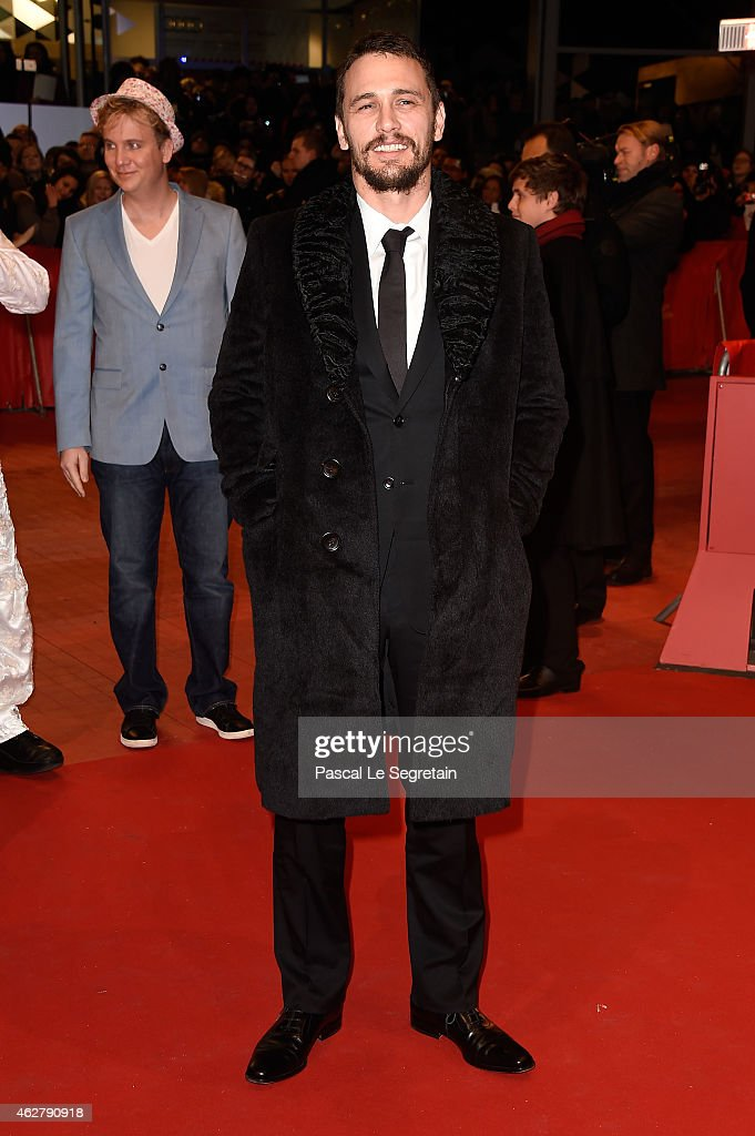 Actor James Franco attends the 'Nobody Wants the Night' Opening Night premiere during the 65th Berlinale International Film Festival at Berlinale...