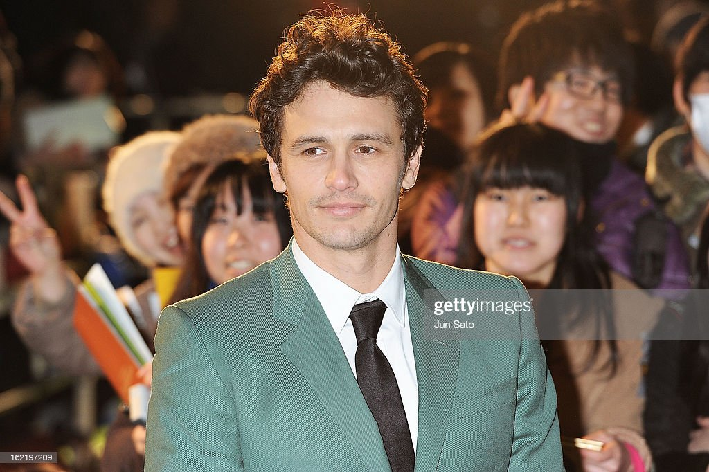 Actor <a gi-track='captionPersonalityLinkClicked' href=/galleries/search?phrase=James+Franco&family=editorial&specificpeople=577480 ng-click='$event.stopPropagation()'>James Franco</a> attends the 'Oz: the Great and Powerful' Japan Premiere at Roppongi Hills on February 20, 2013 in Tokyo, Japan.