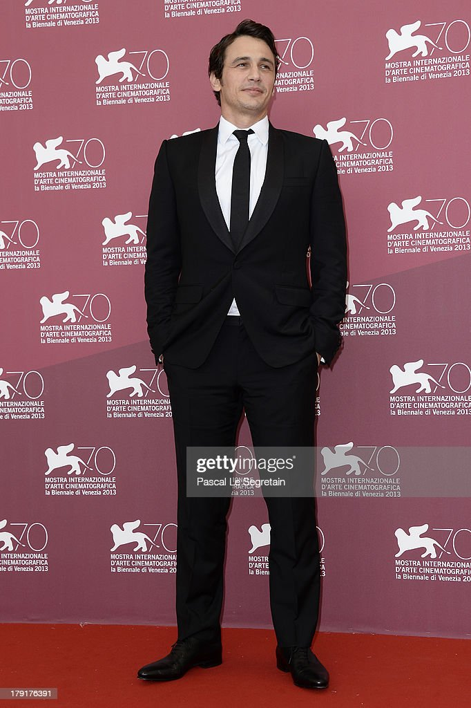 Actor <a gi-track='captionPersonalityLinkClicked' href=/galleries/search?phrase=James+Franco&family=editorial&specificpeople=577480 ng-click='$event.stopPropagation()'>James Franco</a> attends the 'Palo Alto' Photocall during the 70th Venice International Film Festival at the Sala Grande on September 1, 2013 in Venice, Italy.