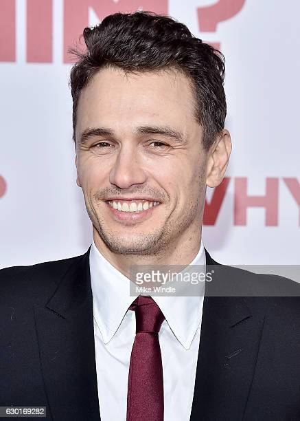 Actor James Franco attends the premiere of 20th Century Fox's 'Why Him' at Regency Bruin Theater on December 17 2016 in Westwood California