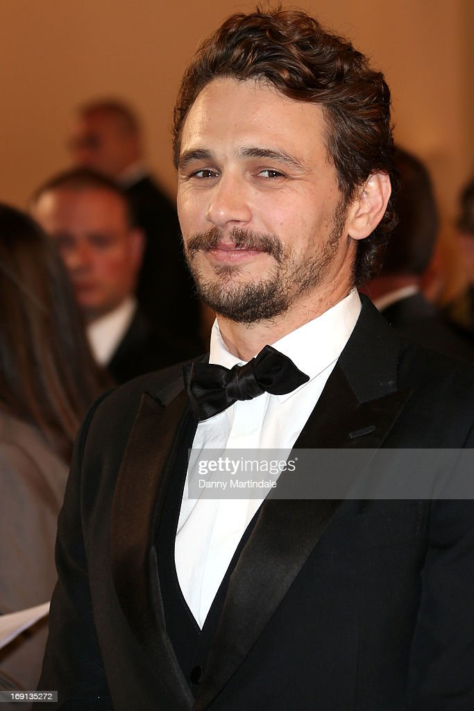 Actor <a gi-track='captionPersonalityLinkClicked' href=/galleries/search?phrase=James+Franco&family=editorial&specificpeople=577480 ng-click='$event.stopPropagation()'>James Franco</a> attends the Premiere of 'As I Lay Dying' during the 66th Annual Cannes Film Festival at the Palais des Festivals on May 20, 2013 in Cannes, France.