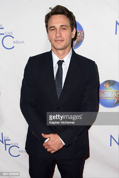 Actor James Franco attends the premiere of Made In FilmLand's 'The Sound and The Fury' at Beverly Hills Fine Arts Theater on October 24 2015 in...