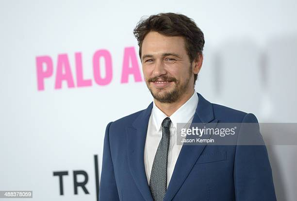 Actor James Franco attends the premiere of Tribeca Film's 'Palo Alto' at Directors Guild Of America on May 5 2014 in Los Angeles California