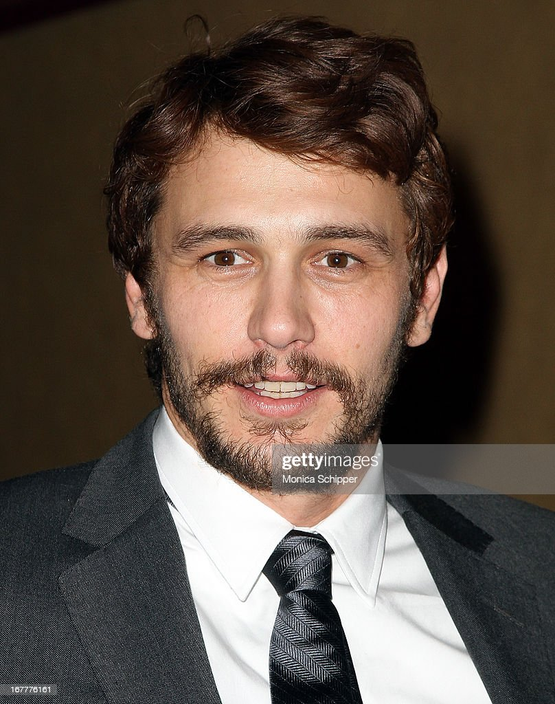 Actor James Franco attends the 'The Iceman' screening at Chelsea Clearview Cinemas on April 29 2013 in New York City