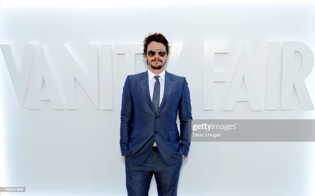Actor <a gi-track='captionPersonalityLinkClicked' href=/galleries/search?phrase=James+Franco&family=editorial&specificpeople=577480 ng-click='$event.stopPropagation()'>James Franco</a> attends the Vanity Fair and Chanel dinner during The 66th Annual Cannes Film Festival at Tetou Restaurant on May 19, 2013 in Cannes, France.