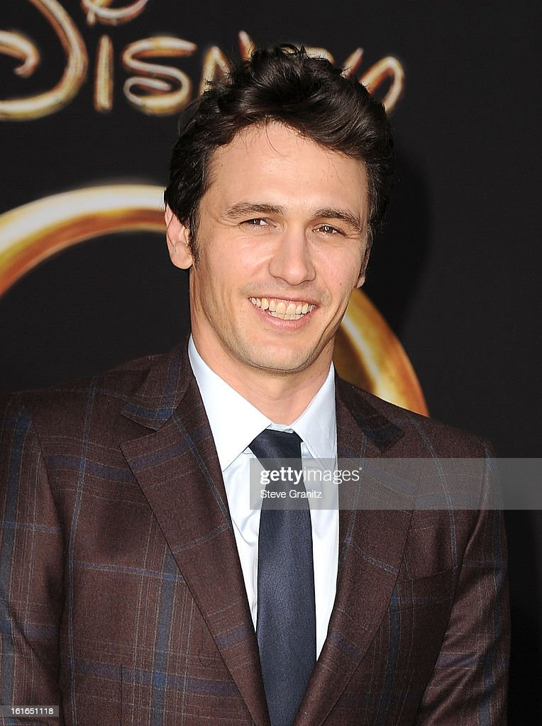 Actor James Franco attends the world premiere of Disney's 'OZ The Great And Powerful' at the El Capitan Theatre on February 13, 2013 in Hollywood, California.