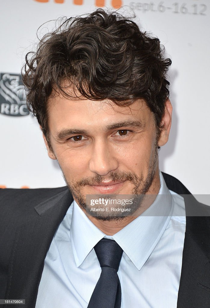 Actor <a gi-track='captionPersonalityLinkClicked' href=/galleries/search?phrase=James+Franco&family=editorial&specificpeople=577480 ng-click='$event.stopPropagation()'>James Franco</a> attends the'Spring Breakers' premiere during the 2012 Toronto International Film Festival at Ryerson Theatre on September 7, 2012 in Toronto, Canada.