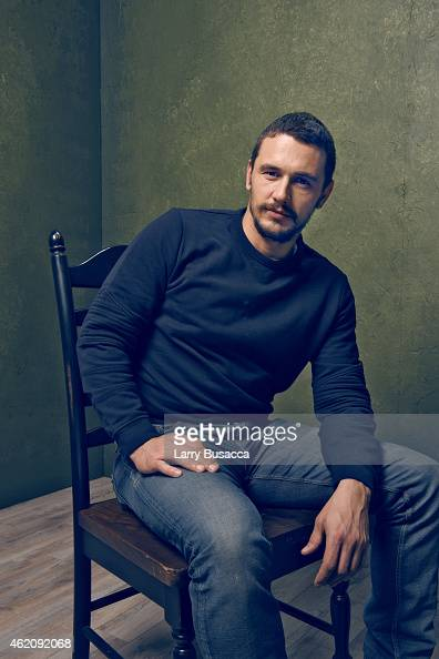 Actor James Franco from 'True Story' poses for a portrait at the Village at the Lift Presented by McDonald's McCafe during the 2015 Sundance Film...
