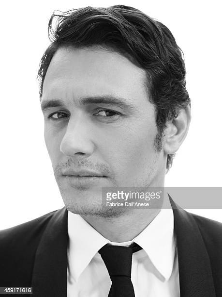 Actor James Franco is photographed for Vanity Fair Italy on September 1 2013 in Venice Italy