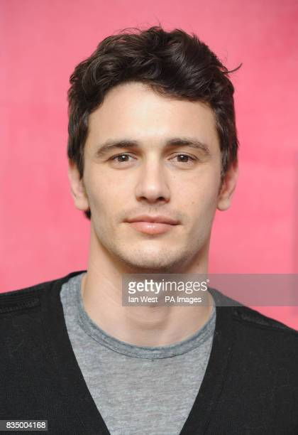 Actor James Franco is seen at a photocall for new film 'Milk' at the Soho Hotel in London