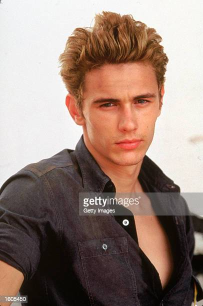 Actor James Franco performs in the televised movie 'James Dean'