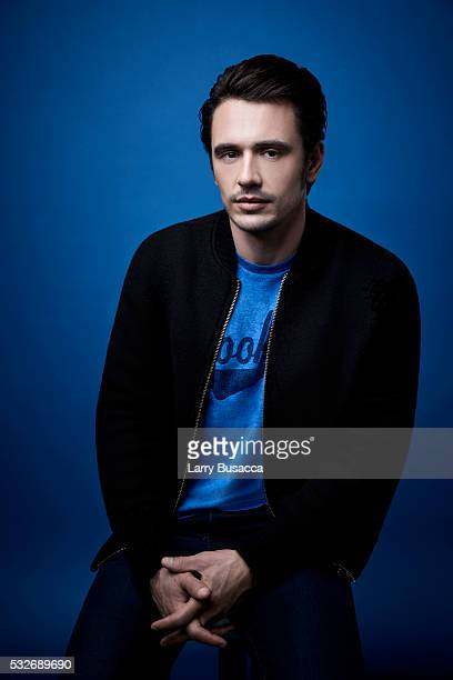 Actor James Franco poses for a portrait at the Tribeca Film Festival on April 16 2016 in New York City