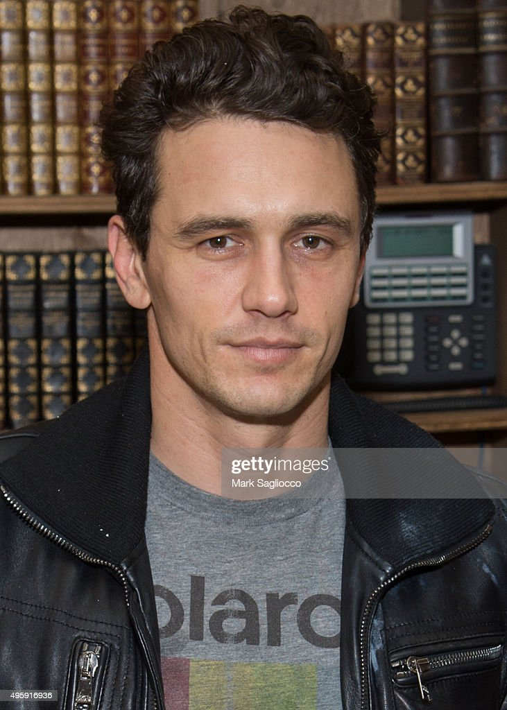 "James Franco Signs His Art Project ""Magic Mountain/Home Movies"""