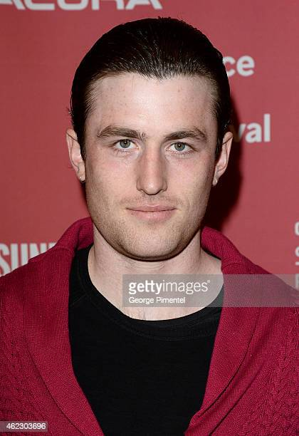 Actor James Frecheville attends the 'The Stanford Prison Experiment' premiere during the 2015 Sundance Film Festival on January 26 2015 in Park City...