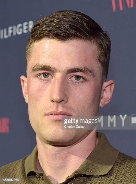 Actor James Frecheville attends the Zooey Deschanel for Tommy Hilfiger Collection launch event at The London Hotel on April 9 2014 in West Hollywood...