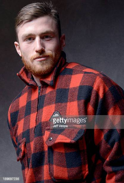 Actor James Frecheville poses for a portrait during the 2013 Sundance Film Festival at the WireImage Portrait Studio at Village At The Lift on...