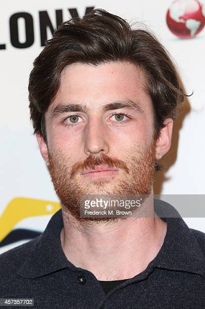 Actor James Frechville attends the Premiere of 'Felony' at the Harmony Gold Theatre on October 16 2014 in Los Angeles California