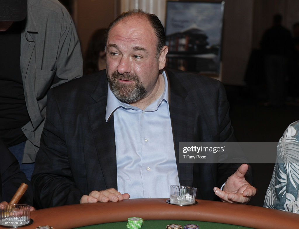 Actor <a gi-track='captionPersonalityLinkClicked' href=/galleries/search?phrase=James+Gandolfini&family=editorial&specificpeople=171463 ng-click='$event.stopPropagation()'>James Gandolfini</a> attends Los Angeles Police Memorial Foundation's Celebrity Poker Tournament at Saban Theatre on April 27, 2013 in Beverly Hills, California.