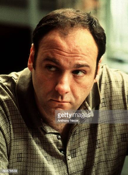 Actor James Gandolfini in undated publicity portrait for HBO TV drama series The Sopranos