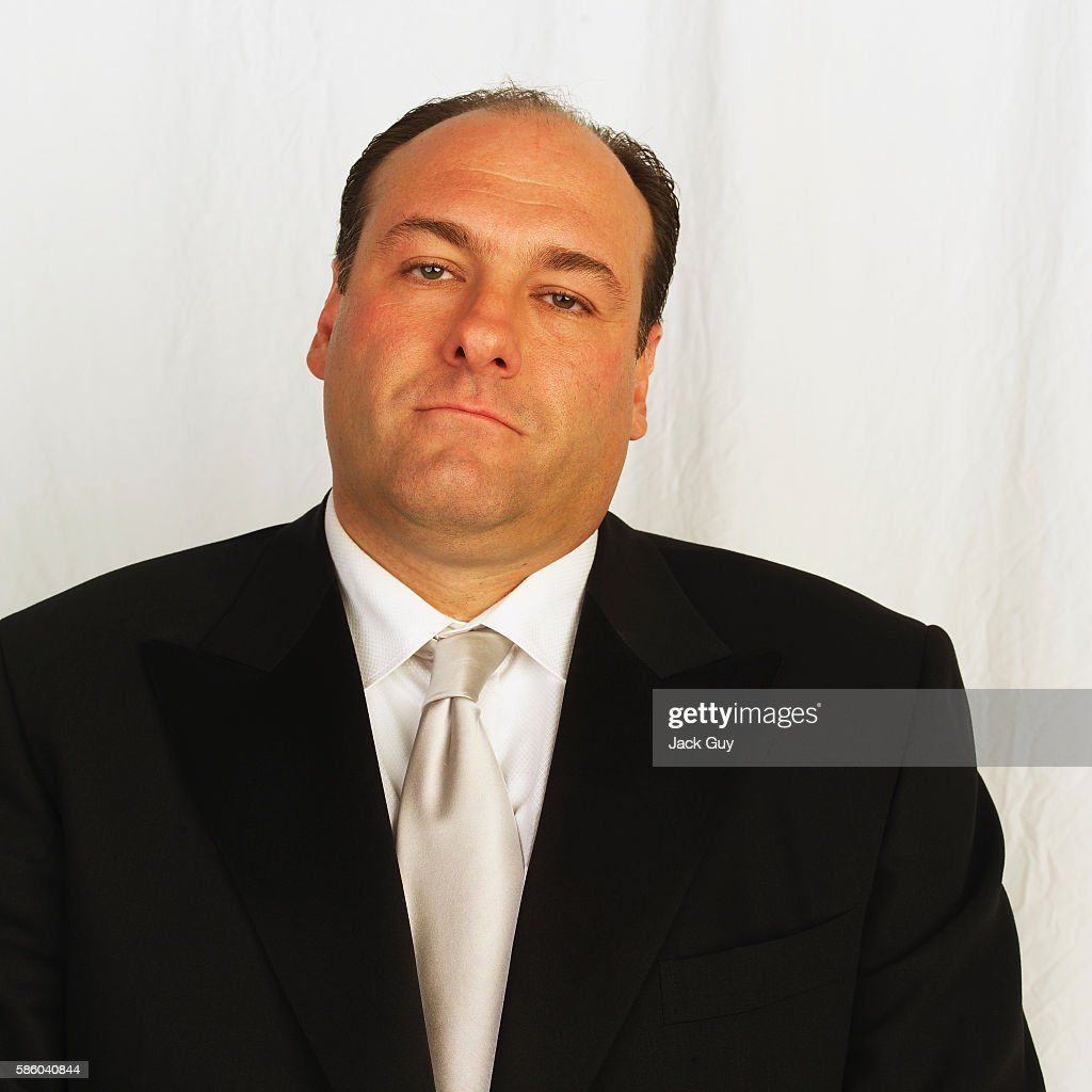 Actor James Gandolfini is photographed for Emmy Magazine at the 55th Annual Emmy Awards on September 21, 2003 in Los Angeles, California.