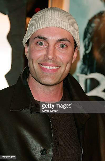 Actor James Haven arrives at the premiere of Paramount Pictures' 'Beowulf' at the Westwood Village Theatre on November 5 2007 in Los Angeles...
