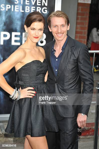 Actor James Hebert and guest arrive at the Premiere of Paramount Pictures' 'Super 8' held at the Regency Village Theater in Westwood