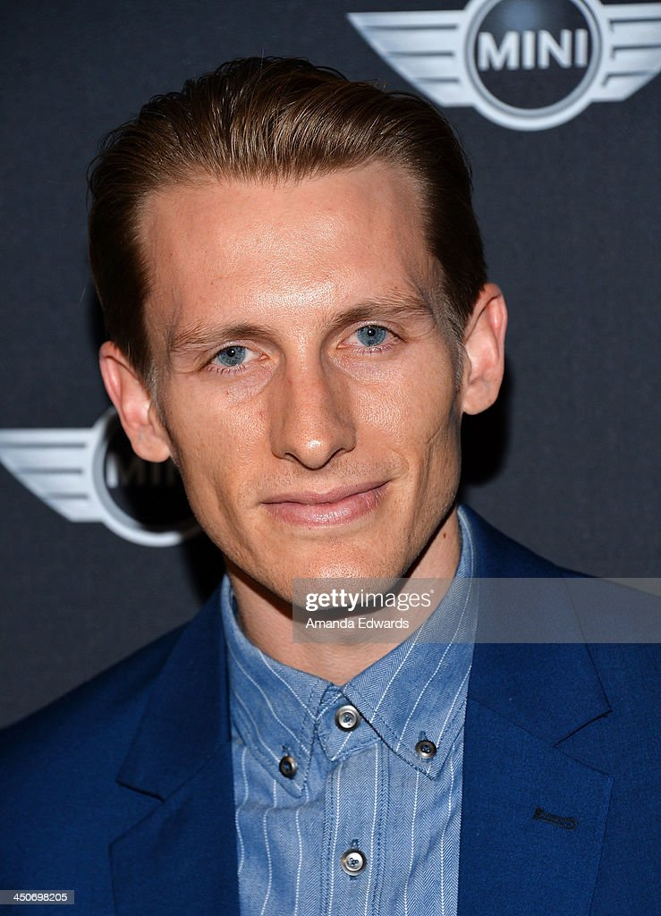 Actor James Hebert arrives at the MINI Cooper red carpet premiere on November 19, 2013 in Los Angeles, California.