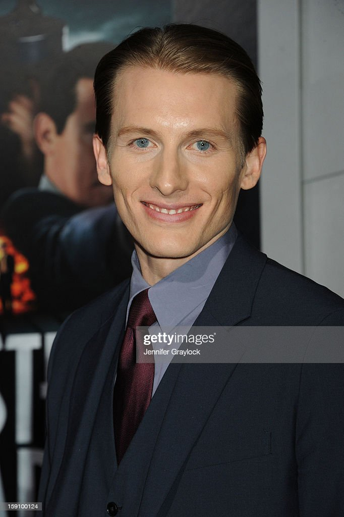 Actor James Hebert attends the 'Gangster Squad' Los Angeles premiere held at Grauman's Chinese Theatre on January 7, 2013 in Hollywood, California.