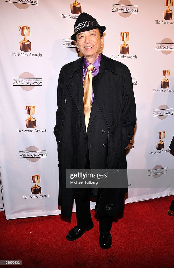 Actor James Hong arrives at the 38th Annual Annie Awards on February 5 2011 in Los Angeles California