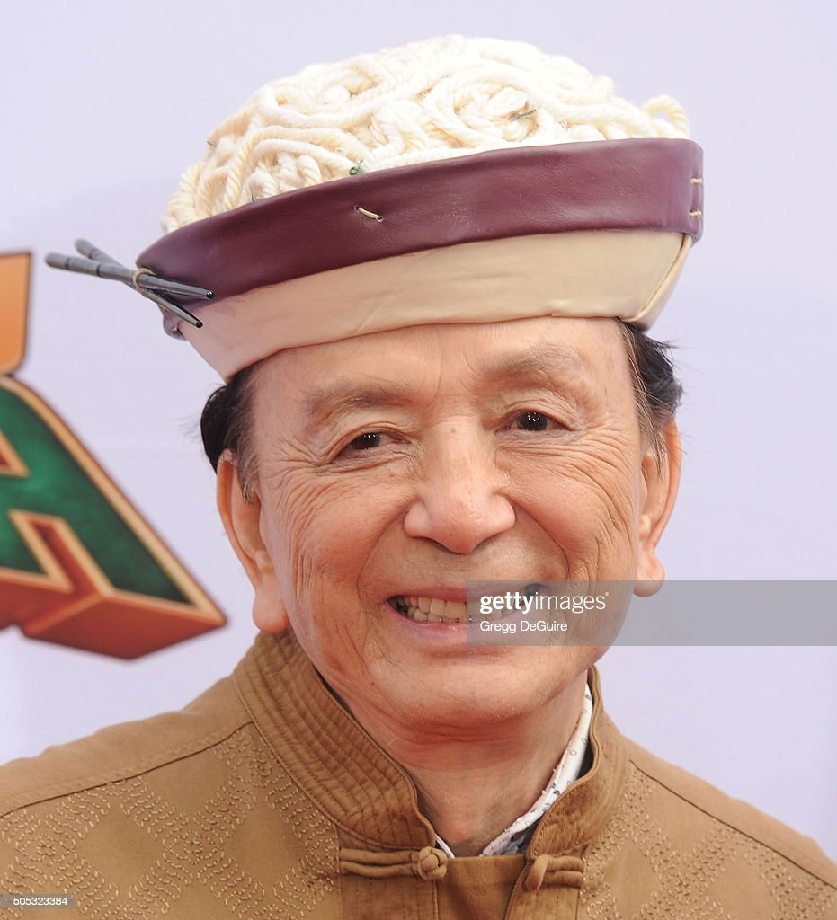 Actor James Hong arrives at the premiere of 20th Century Fox's 'Kung Fu Panda 3' at TCL Chinese Theatre on January 16 2016 in Hollywood California