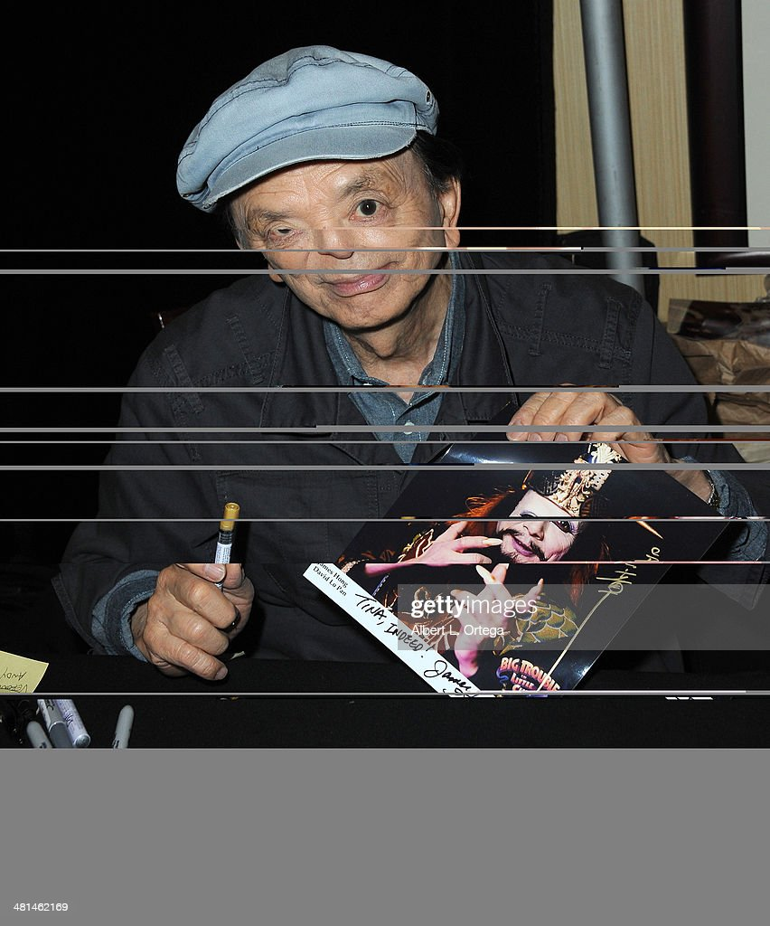 Actor James Hong attends the 2014 Monsterpalooza The Art Of Monsters Convention held at Marriott Airport Hotel on March 29 2014 in Burbank California